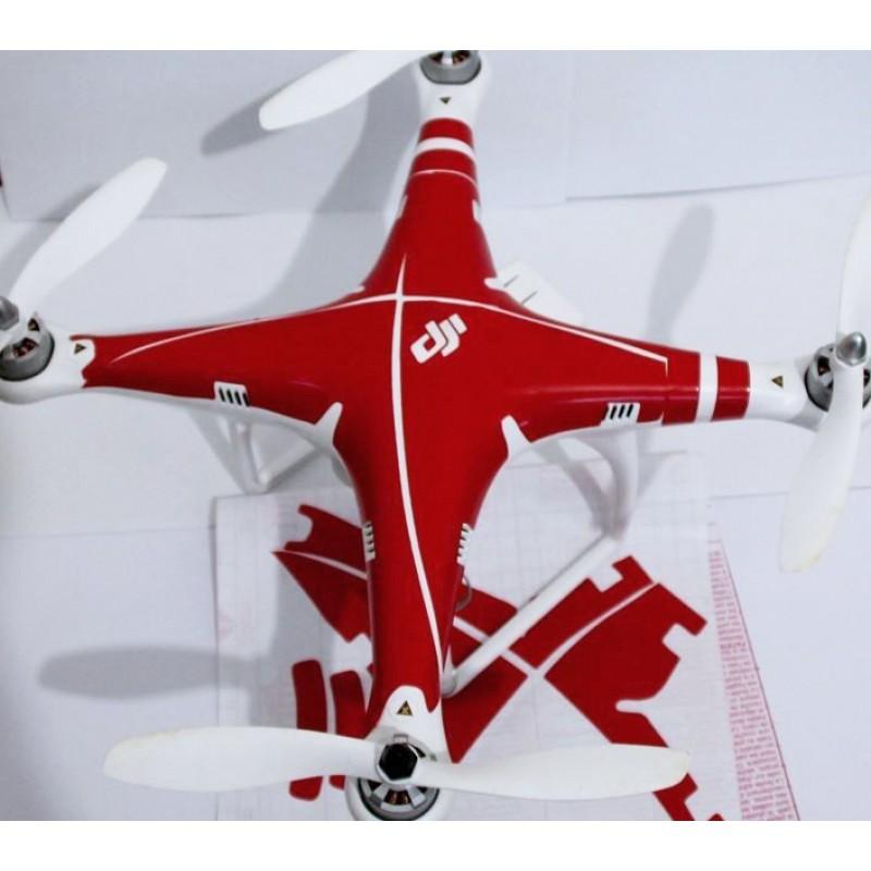 Red sticker for DJI Phantom 2 Vision