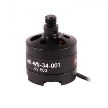 Brushless motor (clockwise - levogyrate thread)(WK-WS-34-001) (black) for hexacopter TALI H500